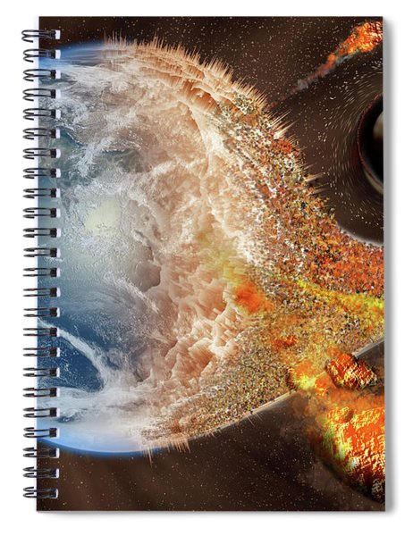 Event Horizon Spiral Notebook