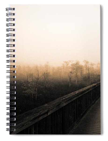 Everglades Boardwalk Spiral Notebook