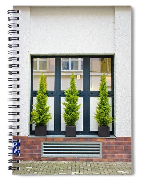 Evergreen Shrubs Spiral Notebook
