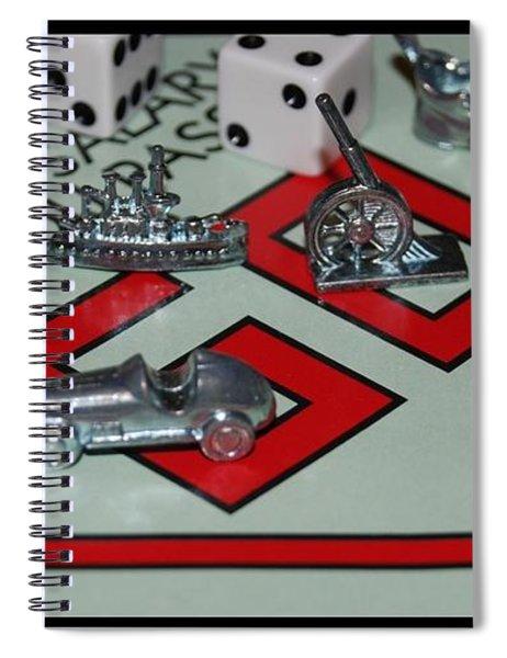 Everyone Pass Go Spiral Notebook
