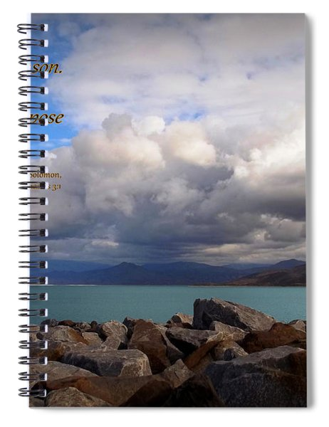 Everything Has Its Time - Ecclesiastes Spiral Notebook