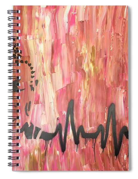 Everything Is Energy Spiral Notebook