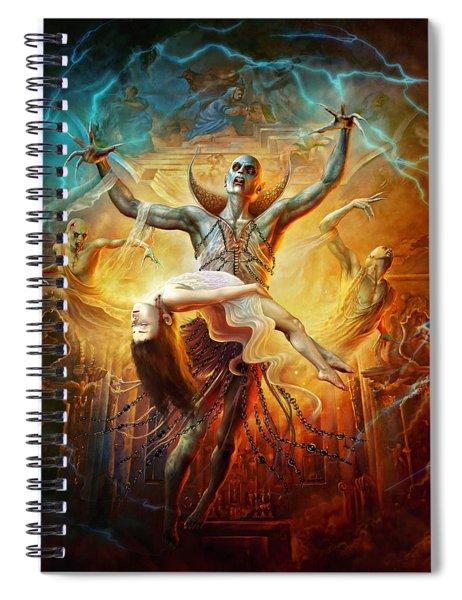 Evil God Spiral Notebook