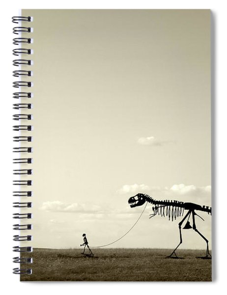 Evolution Spiral Notebook