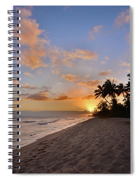Ewa Beach Sunset 2 - Oahu Hawaii Spiral Notebook