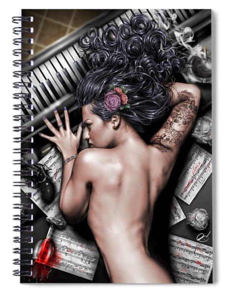 Ex Dono Dei Spiral Notebook