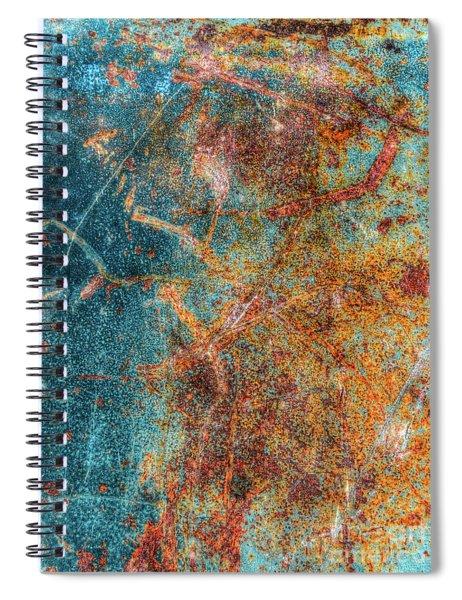 Excavator Spoon Spiral Notebook
