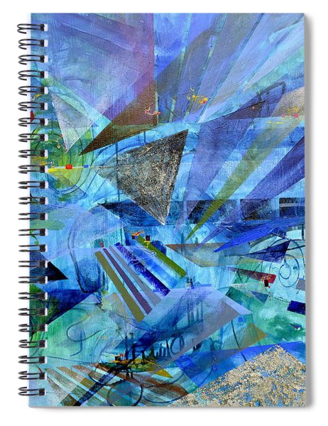 Excursions Of Vision Spiral Notebook