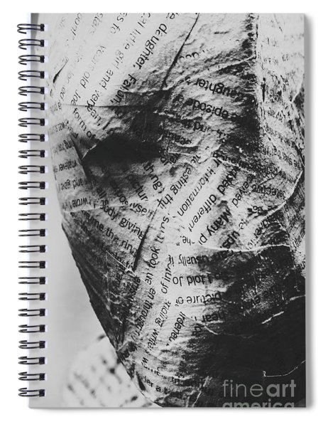 Exhumation Of Contextual Truth Spiral Notebook