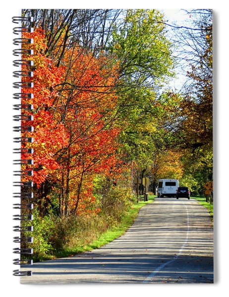 Exit The Park Spiral Notebook