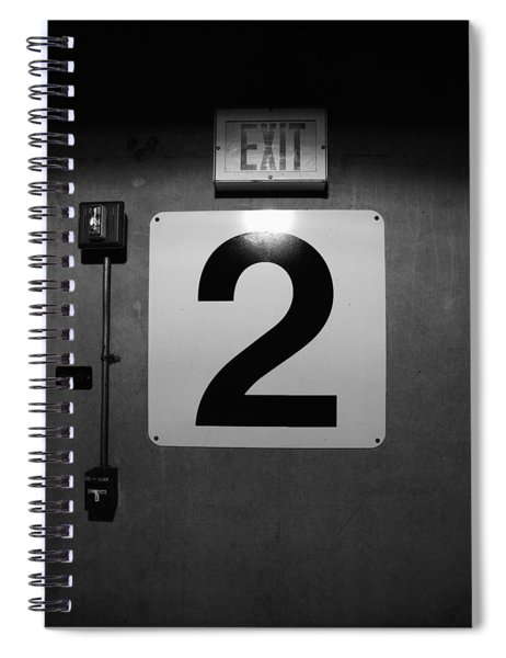 Exit Two Spiral Notebook