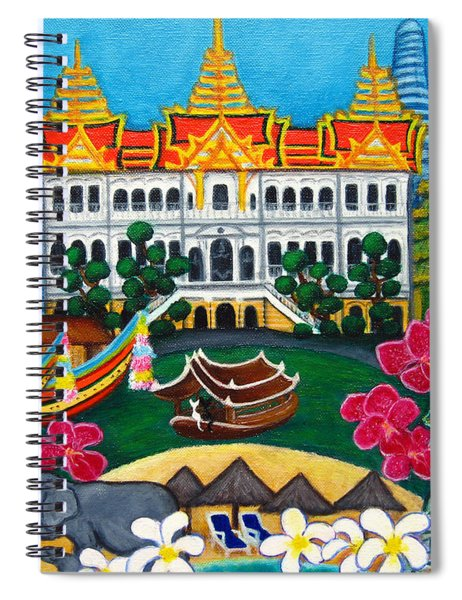 Exotic Bangkok Spiral Notebook