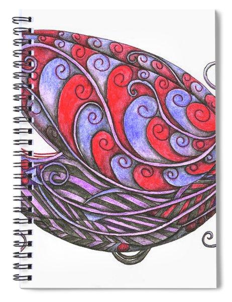 Exotic Bird V Spiral Notebook