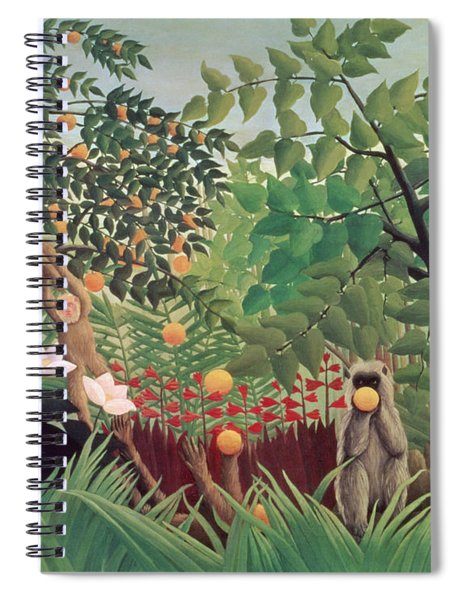 Exotic Landscape Spiral Notebook