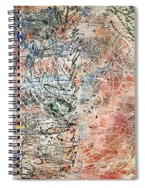 Spiral Notebook featuring the painting Exotic Nature  by Samimah Houston