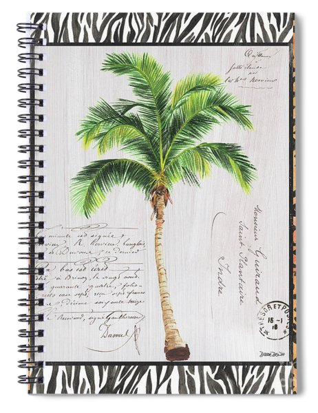 Exotic Palms 1 Spiral Notebook