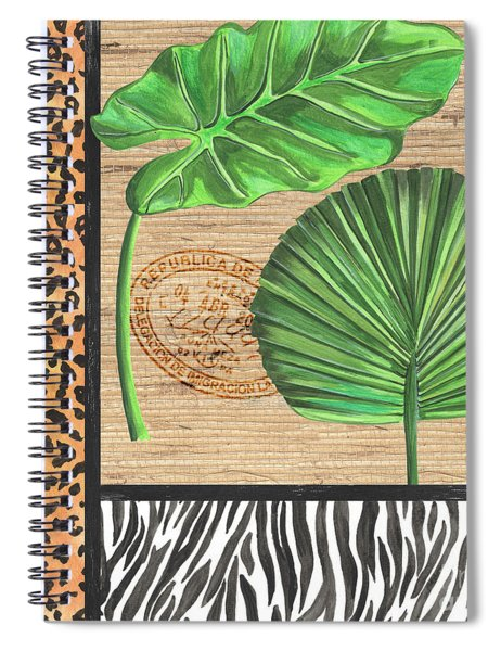 Exotic Palms 2 Spiral Notebook