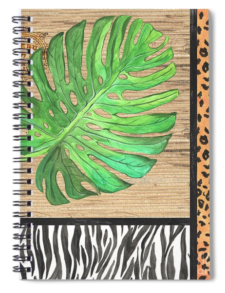 Exotic Palms 3 Spiral Notebook
