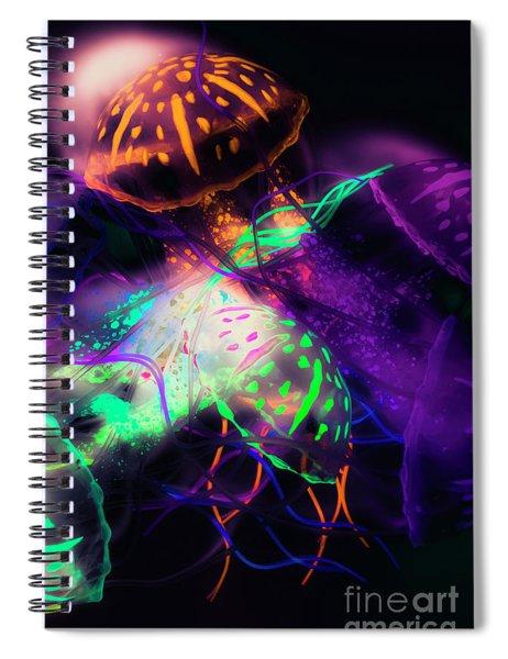 Exotic Rainbows Spiral Notebook