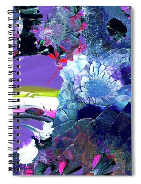 Exotic White Rose Island Spiral Notebook
