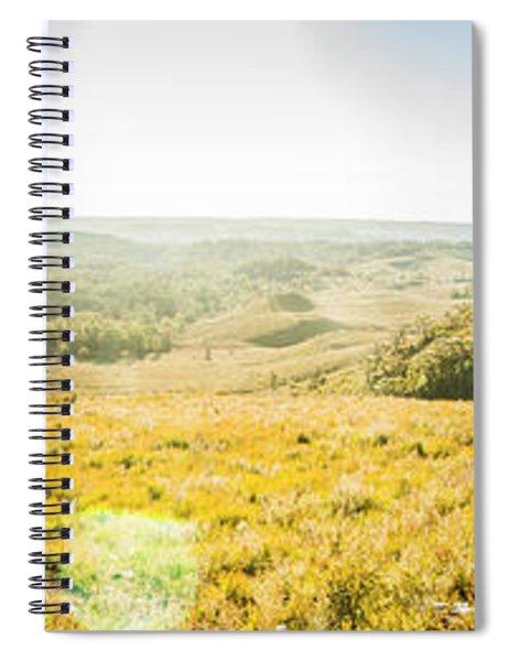 Expansive Open Plains Spiral Notebook