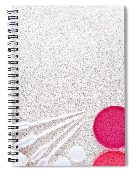 Experiment In Science Research Lab Spiral Notebook