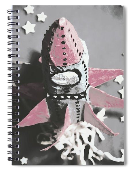 Exploration Into Outer Space  Spiral Notebook
