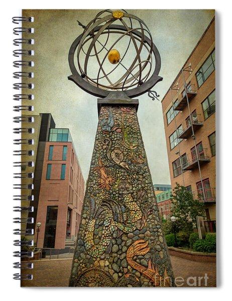 Exploration Obelisk  Spiral Notebook