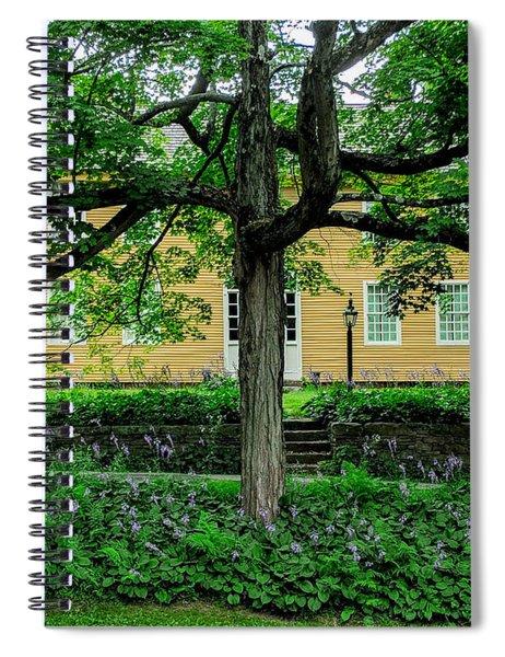 Exploring Historic Deerfield, Massachusetts.  Spiral Notebook