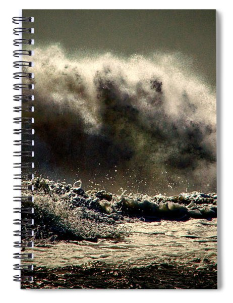 Explosion In The Ocean Spiral Notebook