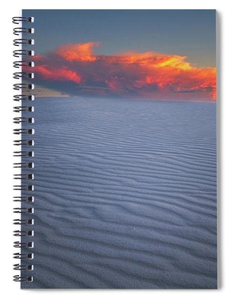 Explosion Of Colors Spiral Notebook