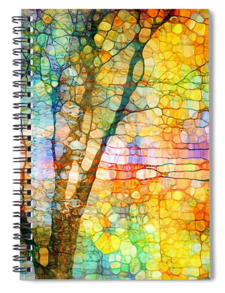 Expressions In Orange Spiral Notebook