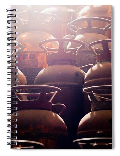 Extinguish Spiral Notebook