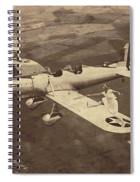 Extreme Tennis Spiral Notebook by Marian Voicu