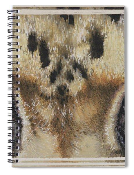 Clouded Leopard Gaze Spiral Notebook