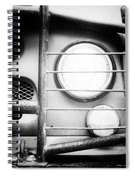 Eye Eye Comrade Lamp Spiral Notebook