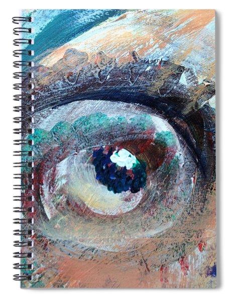 Eye Go Slow Spiral Notebook
