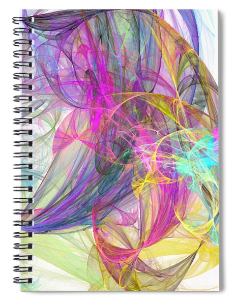 Eye In The Sky Spiral Notebook
