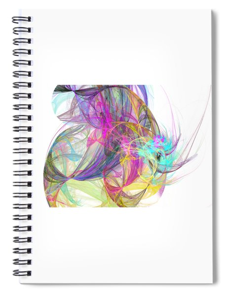 Eye In The Sky Spiral Notebook