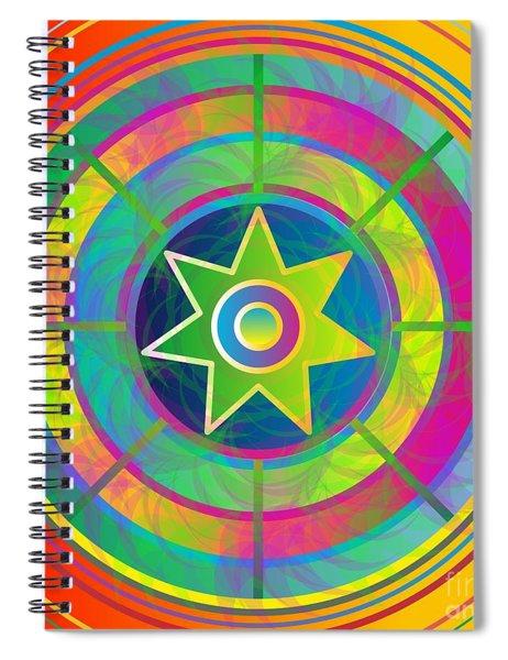 Eye Of Kanaloa 2012 Spiral Notebook