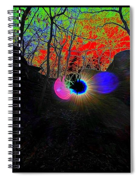 Eye Of Nature Spiral Notebook