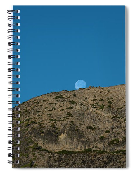 Eye Of The Mountain Spiral Notebook