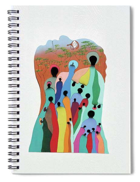 Eye Of The Spirit Spiral Notebook