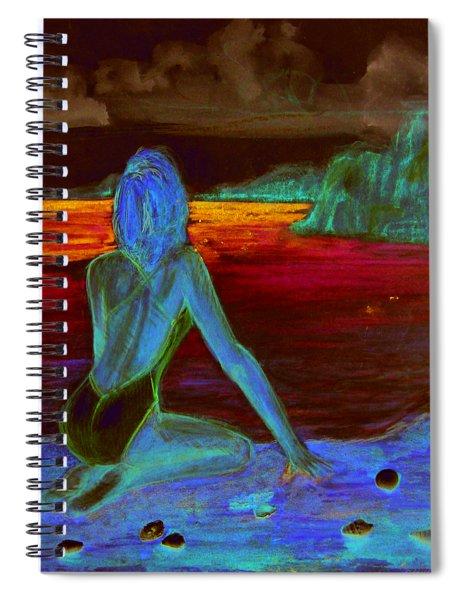 Eye On Horizon Spiral Notebook