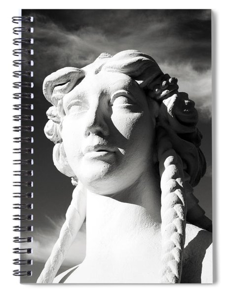 Eyes In The Sky- Fine Art Photography By Linda Woods Spiral Notebook
