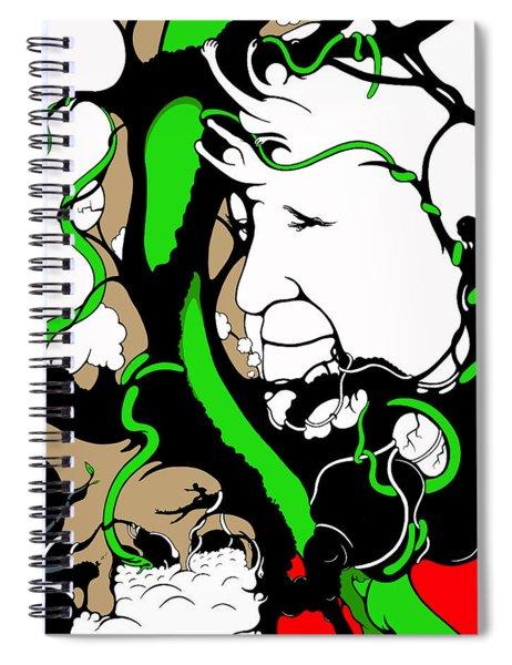 Eyes Of Faith Spiral Notebook