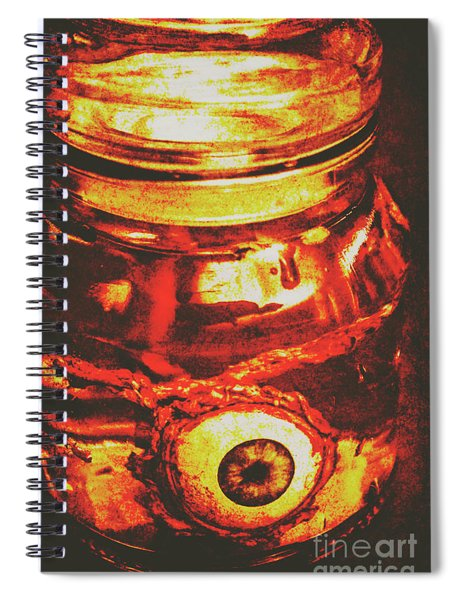 Eyes Of Formaldehyde Spiral Notebook