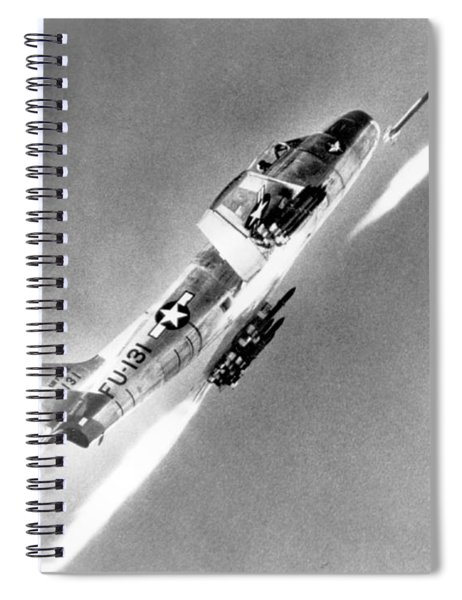 F-86 Sabre, First Swept-wing Fighter Spiral Notebook