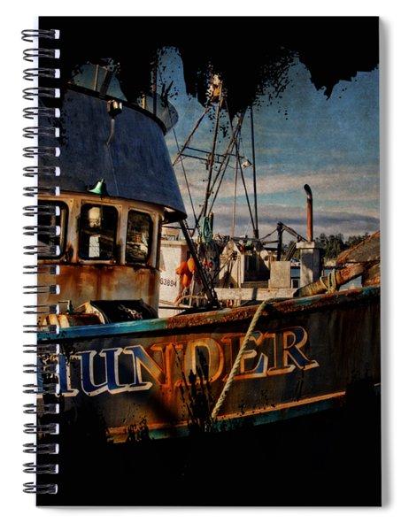 F/v Thunder Spiral Notebook