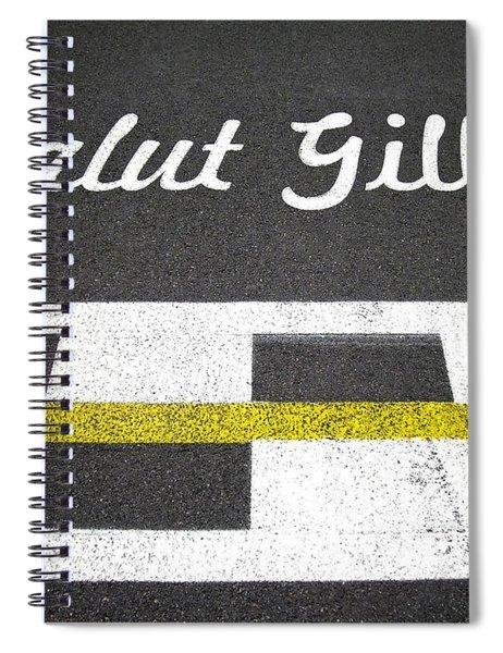 F1 Circuit Gilles Villeneuve - Montreal Spiral Notebook